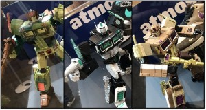 Transformers News: More Images of Masterpiece MP-10 Convoy / Optimus Prime x atmos Figures Revealed at Wonder Festival 2019 Winter