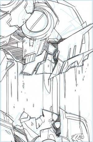 Sarah Stone's IDW Transformers MTMTE #33 Cover Creation Process