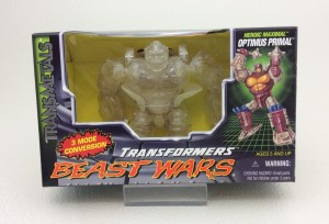 Transformers News: More Transformers Rarities on Ebay: Generation 2 Groove and Clear Beast Wars Optimus Primal