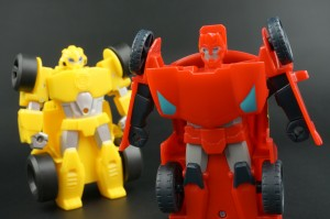 New Galleries: Rescue Bots Superchargers Sideswipe and Bumblebee, Amazon Heatwave, plus Rescan Blurr and Salvage