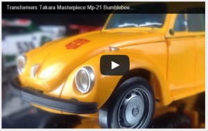 Transformers News: Masterpiece MP-21 Bumblebee English Language Video Review