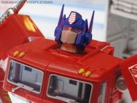 Transformers News: BotCon 2012 Coverage: Hasbro Masterpiece Optimus Prime