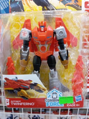 Transformers News: Additional in-box images of Transformers: Robots in Disguise Warrior Class Twinferno