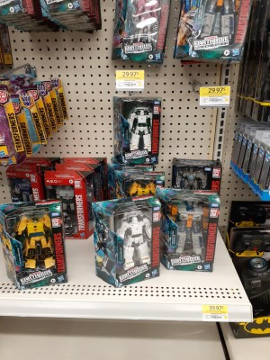 Transformers Earthrise Deluxe Wave 3 Found in Canada along with Bluestreak and Tigertrack