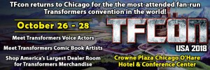Transformers News: TFCon USA 2018 Dates Announced!