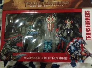 Transformers News: Transformers: Age of Extinction Platinum Leader Pack Optimus Prime and Grimlock Sighted in Malaysia