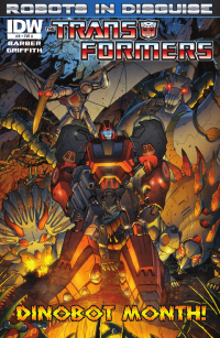 Transformers News: Transformers: Robots in Disguise Ongoing #8 Preview