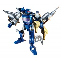 Transformers News: Review: Transformers Constructbots Soundwave