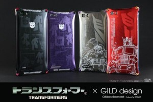 Transformers News: Transformers 30th Anniversary iPhone 5 / 5s Covers from Gild Design