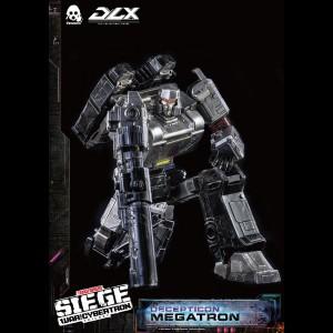 ThreeZero Unveil DLX Siege Megatron Figure
