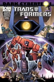Transformers News: Sneak Peek - Dark Cybertron #1 iTunes Preview