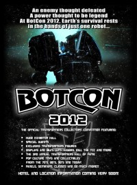 Transformers News: BotCon 2012 Teaser Website Online