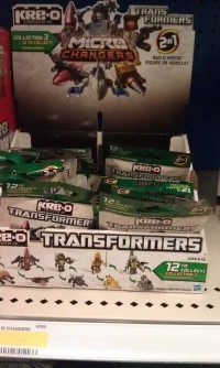 Transformers News: Kre-O Micro Changers Wave 3 at Retail