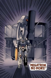 Transformers News: Very Limited Edition All Hail Megatron #12 Print Revealed