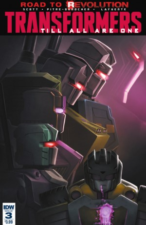 IDW Transformers: Till All Are One Issue 3 Full Preview