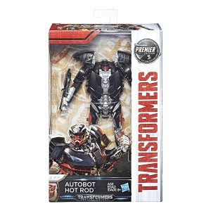 Transformers: The Last Knight Deluxe Hot Rod Listing on Amazon
