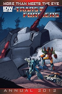 IDW August 2012 Transformers Solicitations