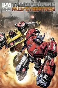 Transformers: Fall of Cybertron Digital Comic Q&A with John Barber