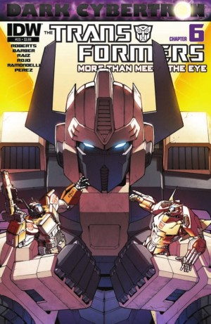 Transformers News: IDW Transformers: More Than Meets the Eye #25 (DC6) Preview
