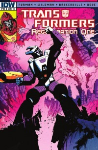 Transformers News: Transformers: Regeneration One #91 Review