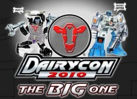 Transformers News: Dairycon 2010 Officially Dated!