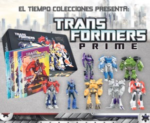 Transformers News: El Tiempo Transformers Prime PVC Collectors Figures