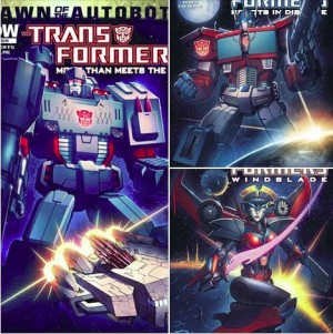 IDW Publishing Live Transformers Panel - Barber, Roberts and Scott Answer Your Questions!