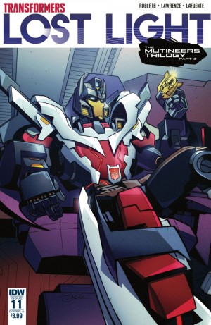 Transformers News: Review of IDW Transformers: Lost Light #11