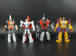 New Galleries: Combiner Wars Dragstrip, Skydive, Firefly, and Alpha Bravo