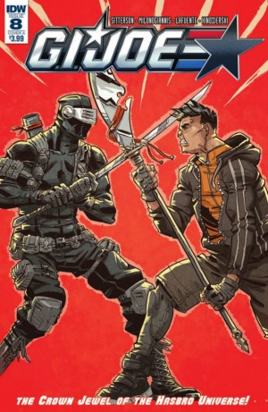 Full Preview for IDW GI Joe #8 #TCJHU