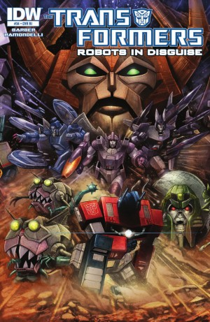 Transformers News: IDW Transformers: Robots in Disguise #34 Review
