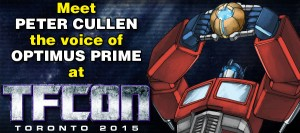 Peter Cullen to Attend TFcon Toronto 2015