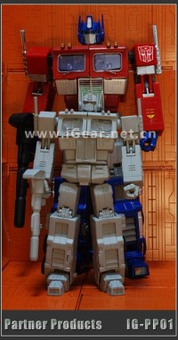 Transformers News: Another look at iGear's Miniature MP Optimus Prime