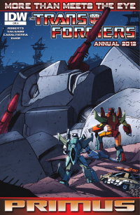 Transformers News: Transformers: More Than Meets The Eye Annual 2012 Preview