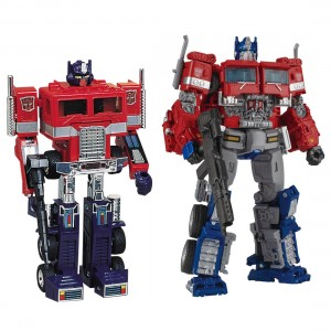 Transformers Studio Series Optimus Prime 38 with G1 Optimus Prime Reissue Through TakaraTomy Mall