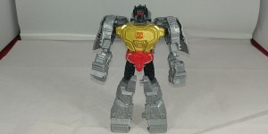 Transformers News: Video Review of Transformers Authentics Bravo Class Grimlock