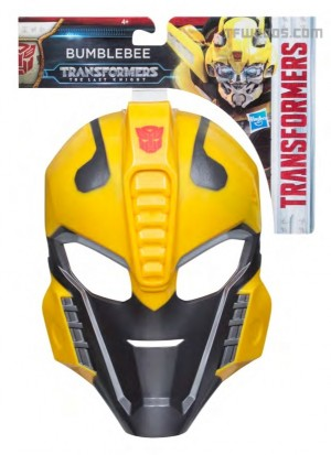 Transformers News: Transformers: The Last Knight Role Play Mask Stock Images