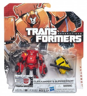 In Package Images Of Generations Cliffjumper and Nemesis Prime