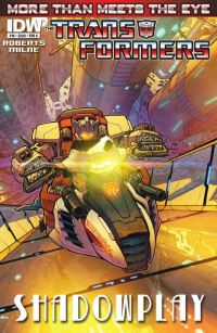 Transformers News: Transformers: More Than Meets The Eye Ongoing #10 Preview