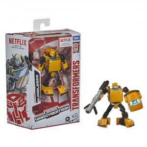 New In Package Shots of Netflix Transformers War for Cybertron Deluxe Class Wave 2