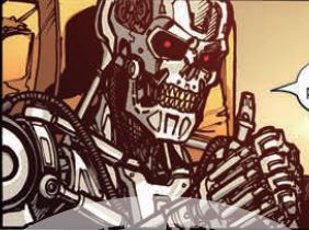 Review for IDW Transformers vs. The Terminator 4