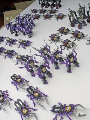 Transformers News: Takara Tomy Transformers Adventure Insecticons TAV17 Shrapnel and TAV18 Bombshell
