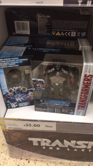 Transformers News: AllSpark Cube Optimus Prime Sighted at UK Tesco!