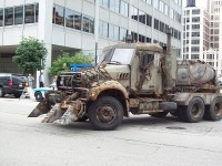 Transformers 3 - New Vehicle On Set