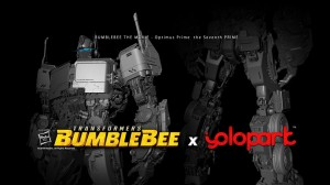 Officially Licensed Transformers Bumblebee Movie Optimus Prime Action Figure from Yolopark Revealed
