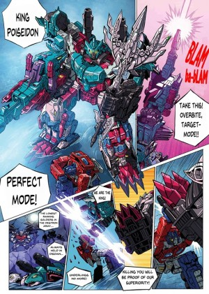 English Translation for Latest Chapter in the Transformers Seacons and Star Convoy Saga Manga