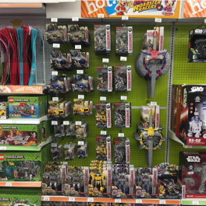 Transformers News: Transformers: The Last Knight Role Play Toys Sighted at ToysRus in California!