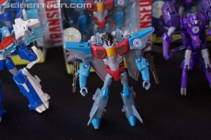 Transformers News: Hasbro Press Event: Transformers Robots in Disguise 5-Step Starscream, 3-Step Bisk, and More!! #HasbroSDCC