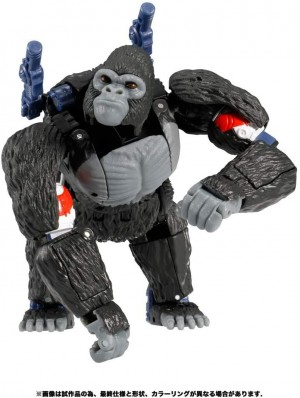 New Images of Transformers Optimus Primal, Rattrap and Cheetor