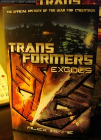 Transformers News: 'Transformers: Exodus' New Cover Images